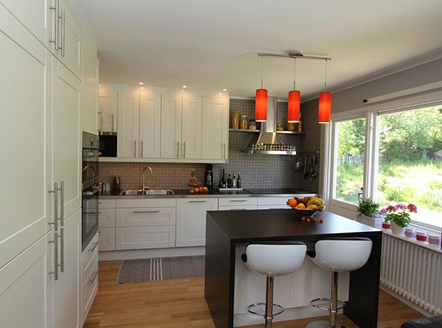 Renovera Kök med vita luckor