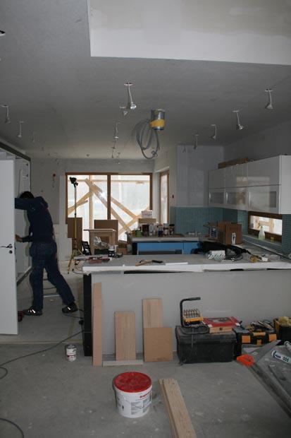 Köksrenovering - Dag för dag