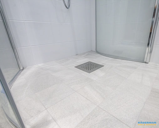 Litet badrum efter badrumsrenovering
