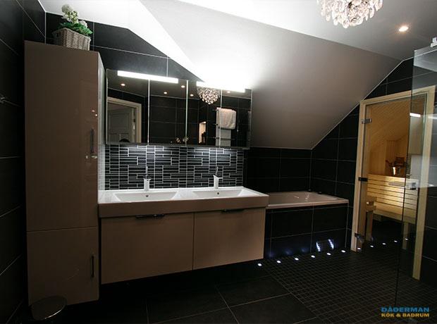 Renovera badrum på Östermalm.