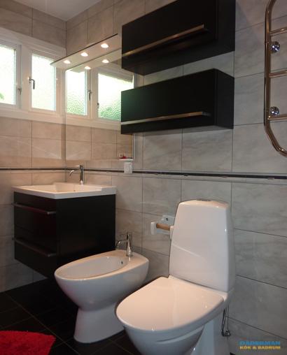 Renovera badrum i Huddinge - Här ett badrum med bidé