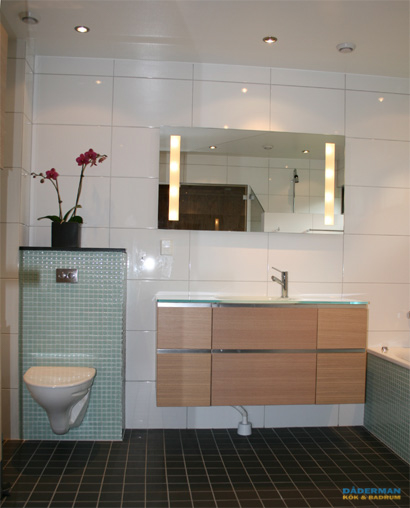 En snygg badrumsrenovering i Årsta