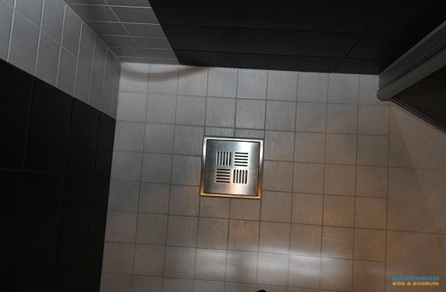 Badrum med exklusiv belysning