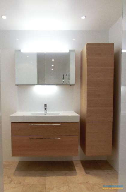 Designer toalett och separat badplats