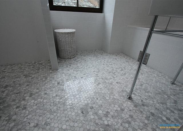 Marmor och mosaik