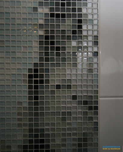 Vackert konstverk i mosaik